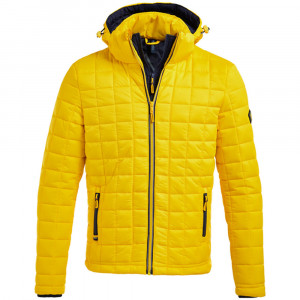 Hooded Box Quilt Fuji Doudoune Homme