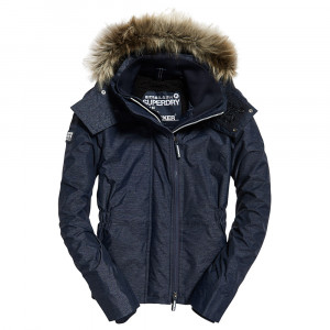 Hooded Fur Winter Blouson Femme