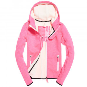 Hooded Prism Sweat Zip Femme