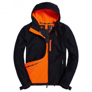 Hooded Windtrekker Coupe Vent Homme