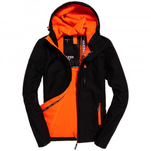 Hooded Windtrekker Veste Homme