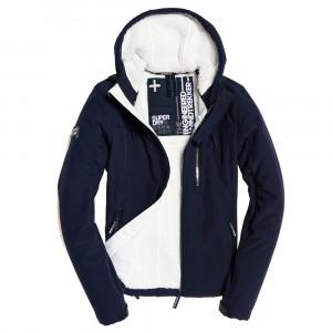 Hooded Winter Windtrekker Coupe-Vent Femme