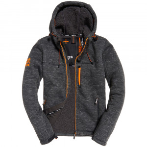 Hooded Winter Windtrekker Veste Homme
