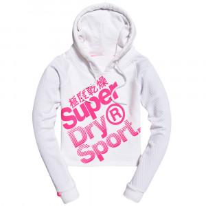 Hyper Sport Label Hood Sweat Cap Femme