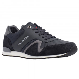 Iconic Leather Texti Chaussure Homme