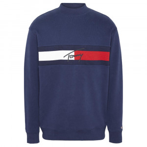 Jacquard Flag Sweat Homme