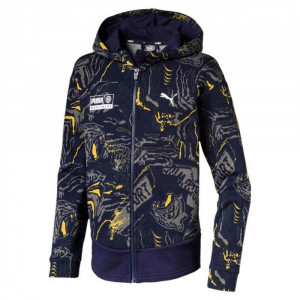Jr Alpha Aop Sweat Zip Enfant