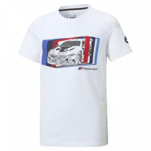 Jr Bmw Mms Graf T-Shirt Mc Garçon