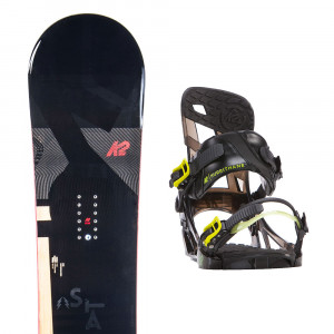 K2 Standard Snow + Hurrithane Fixations Homme