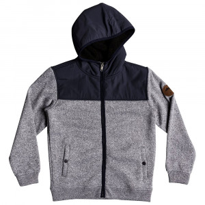 Keller Mix Sherpy Sweat Zip Garçon
