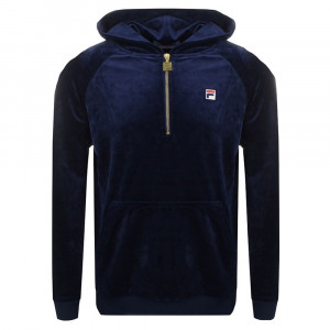 Laurent Velour Half Sweat 1/2 Zip Homme