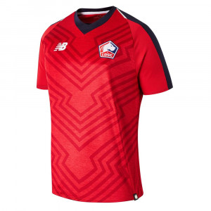 Lille Osc Home Ss Jersey Maillot Foot Enfant