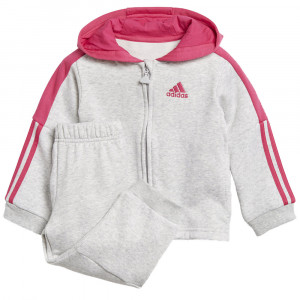 Logo Hooded Fleece Ensemble Survêtement Bébé Fille