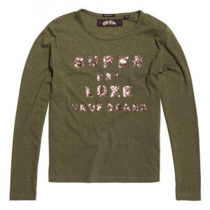 Lorri Sequin T-Shirt Ml Femme
