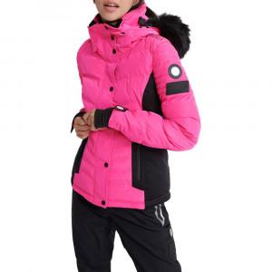 Luxe Snow Puffer Doudoune Ski Femme