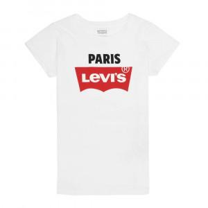 Lvg S/s Destination Tee Paris T-Shirt Mc Fille