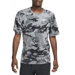 M Np Top Ss Slim Camo T-Shirt Mc Homme