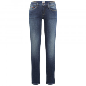 Mid Rise Skinny Jeans Femme
