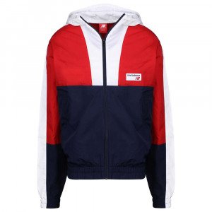 Mj91506 Nb Athletics Windbreaker Veste Jogging Homme