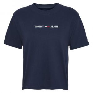 Modern Linear T-Shirt Mc Femme