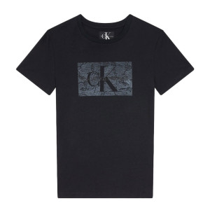 Monogram Lace Box T-Shirt Mc Femme