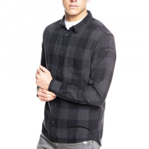 Mother Fly Flannel Chemise Ml Homme