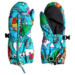 Mr Men Indigo Rinsee Moufles Ski Enfant
