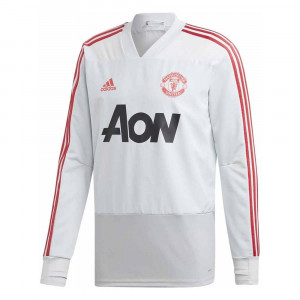 Mufc Tr Top Maillot Ml Homme