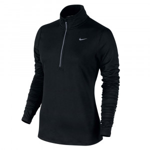 Nike Element T-Shirt Ml 1/2 Zip Femme
