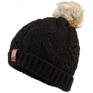 North Cable Bobble Hat Bonnet Femme