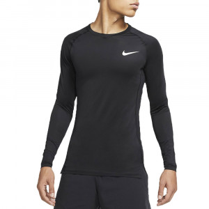 Np Top Ls Tight T-Shirt Ml Homme