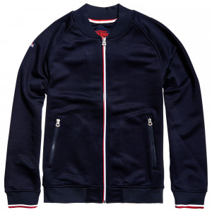 O L Tricot Sweat Zip Homme