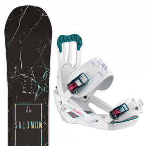 Oh Yeah Snowboard+Spell Fixations Femme