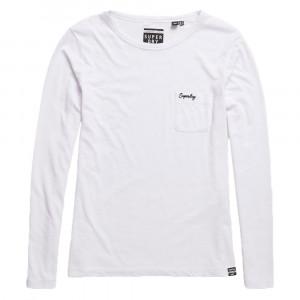 Ol Essential Ls T-Shirt Ml Femme