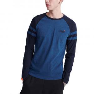 Ol Softball Ringer Ls Top T-Shirt Ml Homme