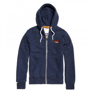 Orange Label Cali Sweat Zip Homme