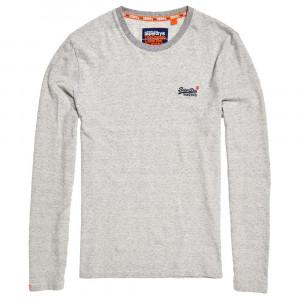Orange Label Jacquard Texture T-Shirt Ml Homme