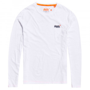 Orange Label L/s Vintage T-Shirt Ml Homme
