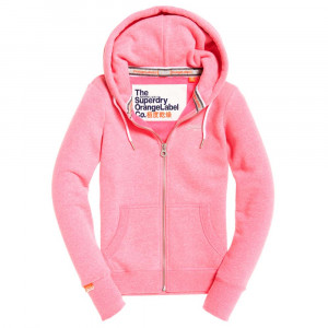 Orange Label Sweat Zip Femme