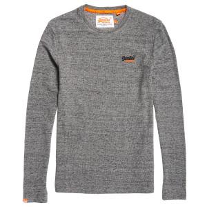 Orange Label Textured L/s Pull Homme