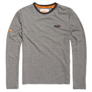 Orange Label Textured L/s T-Shirt Ml Homme