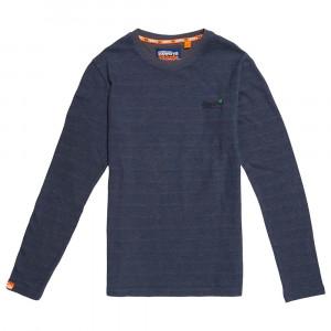 Orange Label Twill Texture T-Shirt Ml Homme