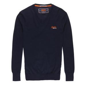 Orange Label Vee Pull Homme