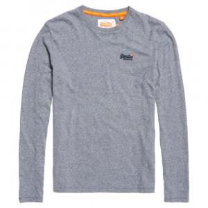 Orange Label Vntge Emb L/s T-Shirt Homme