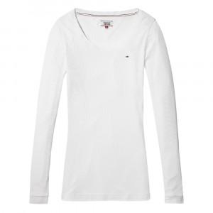 Original Rib Longsleeve T-Shirt Ml Femme