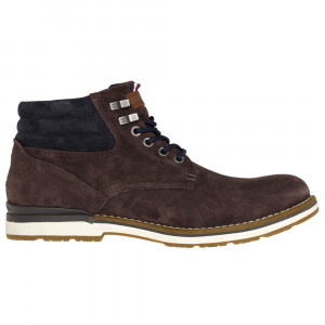 Outdoor Suede Bottine Homme