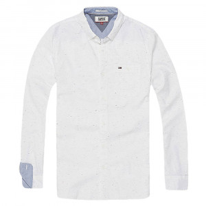 Oxford Neps Chemise Ml Homme