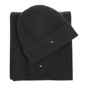 Pima Cotton Scarf Beanie Bonnet/écharpe Homme