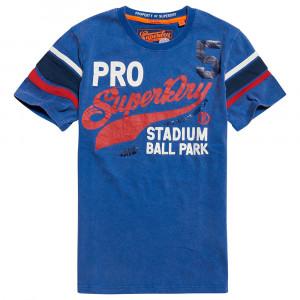 Pitch Field Retro T-Shirt Mc Homme
