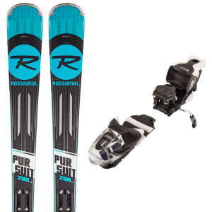 Poursuit 200 Carbon Ski + Xpress 10 B83 Fixations Homme